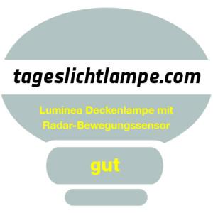 Luminea Deckenlampe mit Radar-Bewegungssensor
