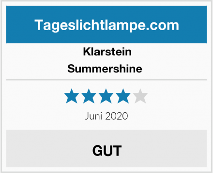 Klarstein Summershine  Test