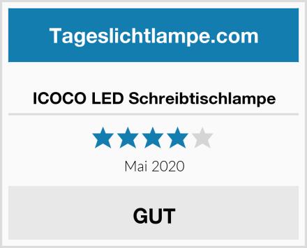 ICOCO LED Schreibtischlampe Test