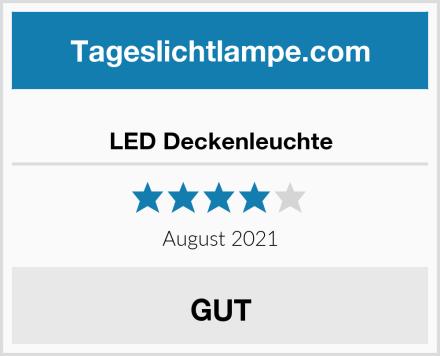 LED Deckenleuchte Test