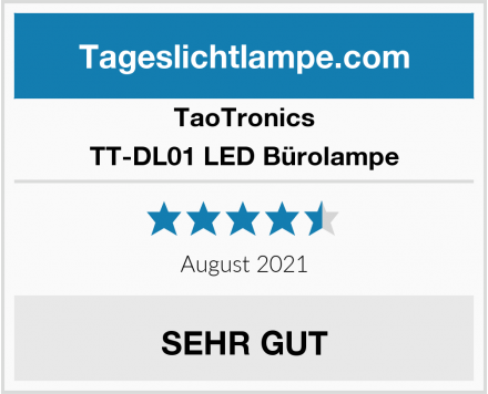 TaoTronics TT-DL01 LED Bürolampe Test