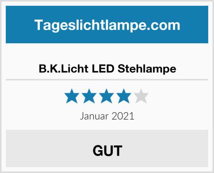B.K.Licht LED Stehlampe Test