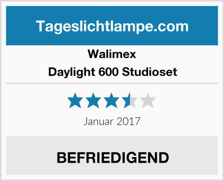 Walimex Daylight 600 Studioset Test