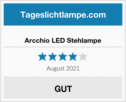 Arcchio LED Stehlampe Test