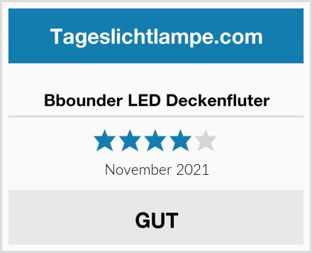 Bbounder LED Deckenfluter Test