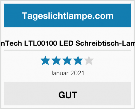 FeinTech LTL00100 LED Schreibtisch-Lampe Test