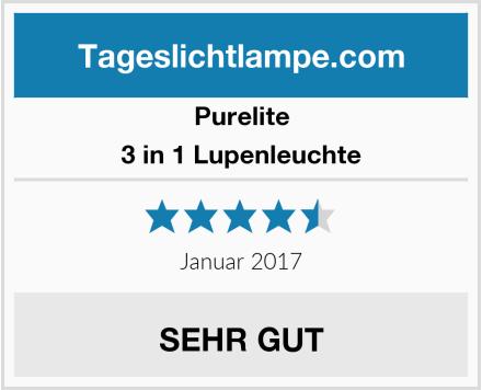 Purelite 3 in 1 Lupenleuchte Test
