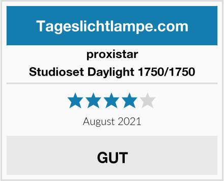 proxistar Studioset Daylight 1750/1750 Test