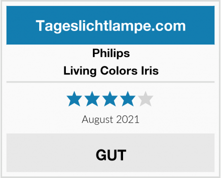Philips Living Colors Iris Test