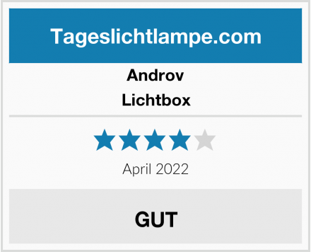 Androv Lichtbox Test