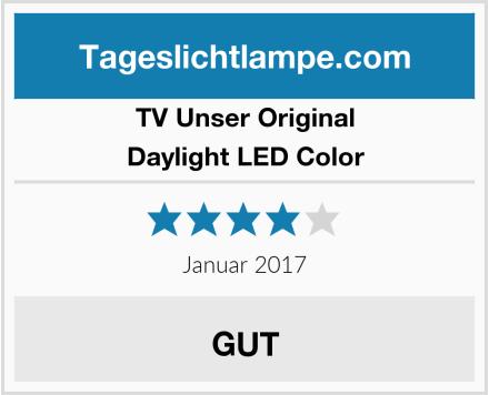 TV Unser Original Daylight LED Color Test