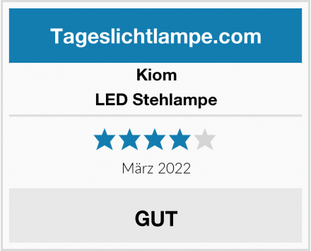 Kiom LED Stehlampe Test