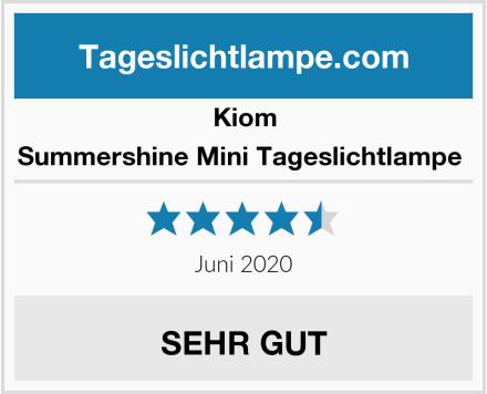 Kiom Summershine Mini Tageslichtlampe  Test