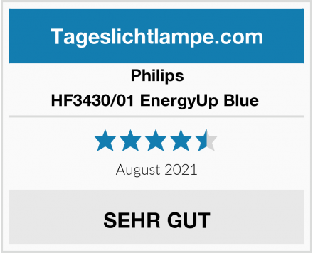 Philips HF3430/01 EnergyUp Blue  Test