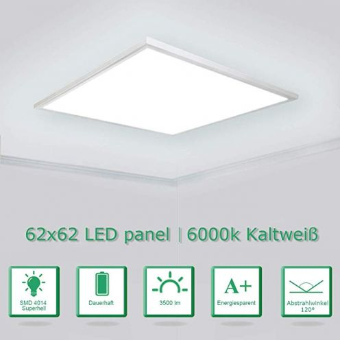 OUBO LED Panel 62x62cm Kaltweiß